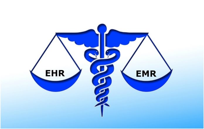 What is the difference between EMR and EHR